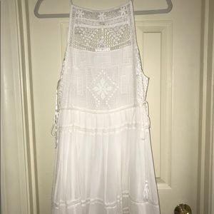 A white Free People Dress